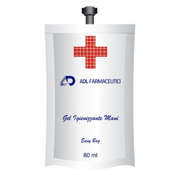 ADL gel igienizant pentru mâini 80 ml