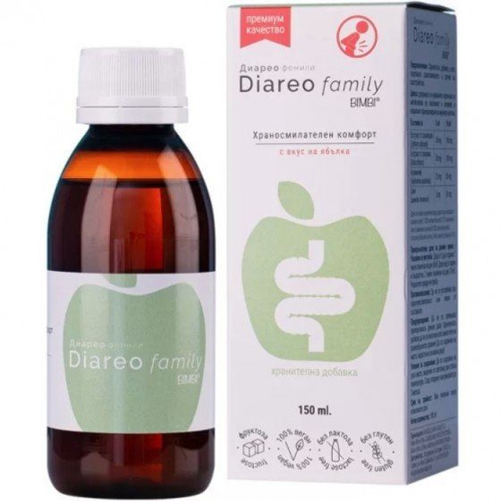 Diareo Family Bimbi - controlează simptomele diareei