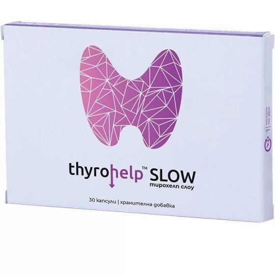 Thyrohelp Slow - în cazul unei glande tiroide hiperactive
