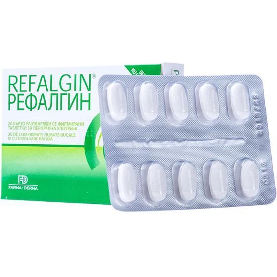 Refalgin comprimate - pentru reflux gastroesofagian și arsuri gastrice