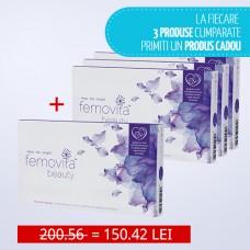 Femovita beauty - la fiecare 3 produse cumparate primiti un produs cadou